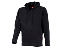 e.s. Hoody-Sweatjacke poly cotton