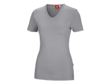 e.s. T-Shirt cotton V-Neck, Damen