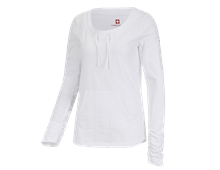 e.s. Longsleeve cotton slub, Damen