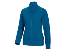 e.s. Veste sweat poly cotton, femmes