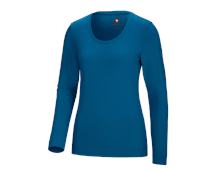 e.s. Longsleeve cotton stretch, femmes