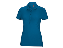 e.s. Polo cotton stretch, femmes