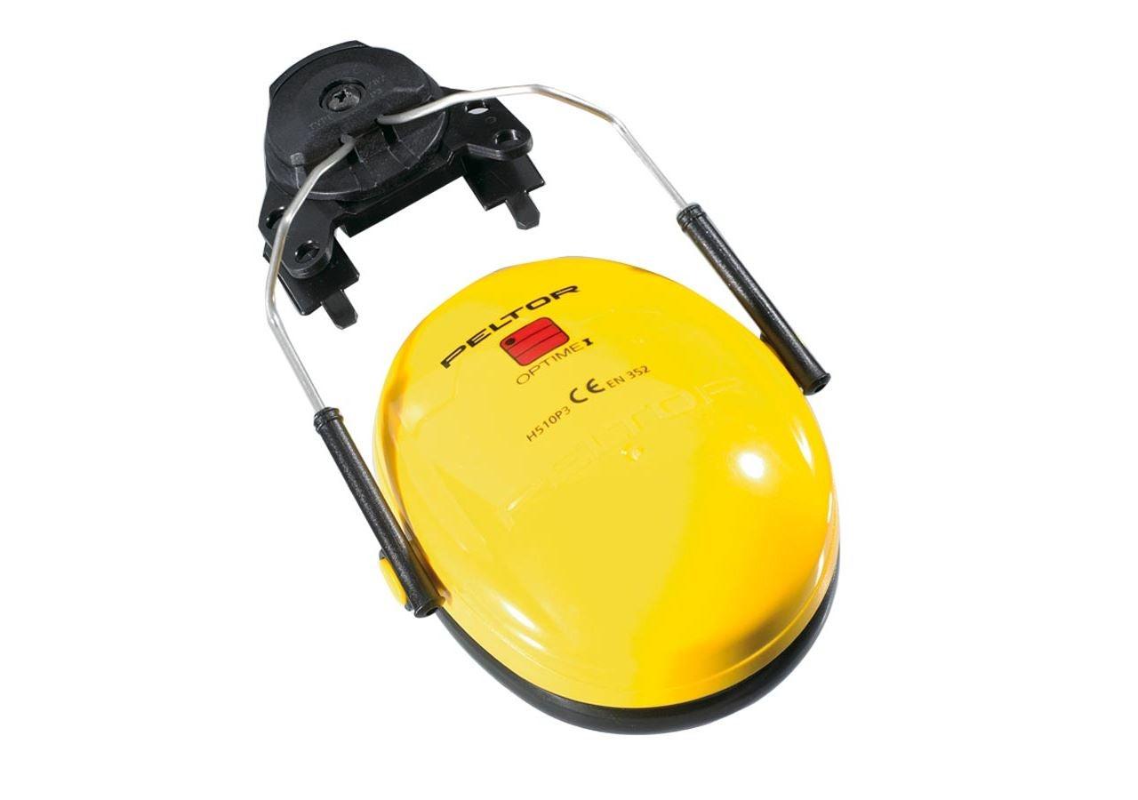 Kapselgehörschützer: 3M Peltor Gehörschützer z.Helmbefestigung Optime I + gelb
