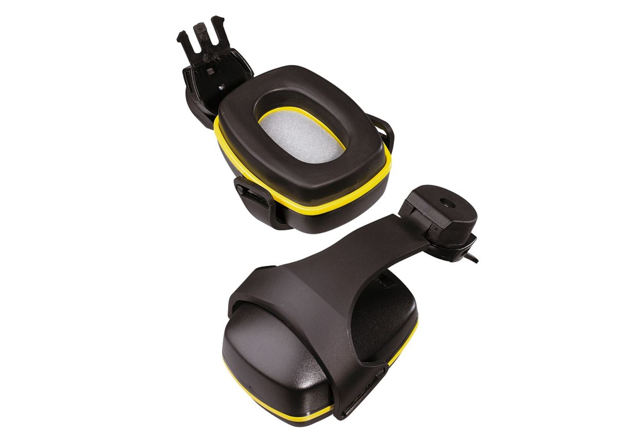 Kapselgehörschützer: Ersatz-Gehörschützer + schwarz/gelb