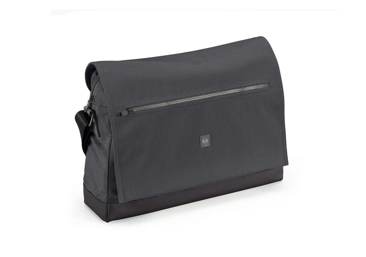 Accessoires: Messenger Bag e.s.motion ten + oxidschwarz