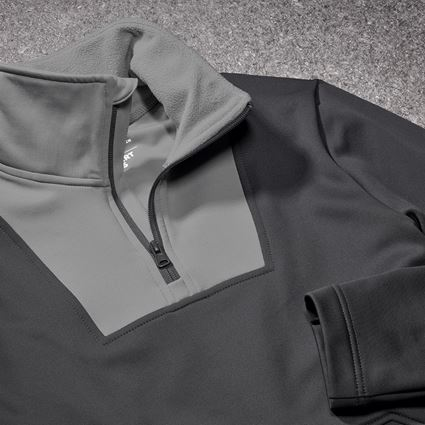 Hauts: Fonction-Troyer thermo stretch e.s.concrete + anthracite/gris perle 2