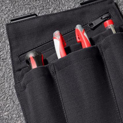 Accessoires: Poches à outils e.s.concrete solid, femmes + noir 2