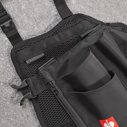 Accessoires: e.s. Werkzeugtaschen-Set Legpack + schwarz 2