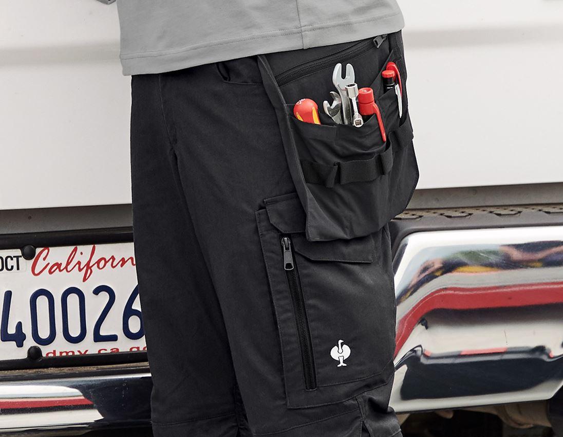 Accessoires: Poches à outils e.s.concrete light + noir