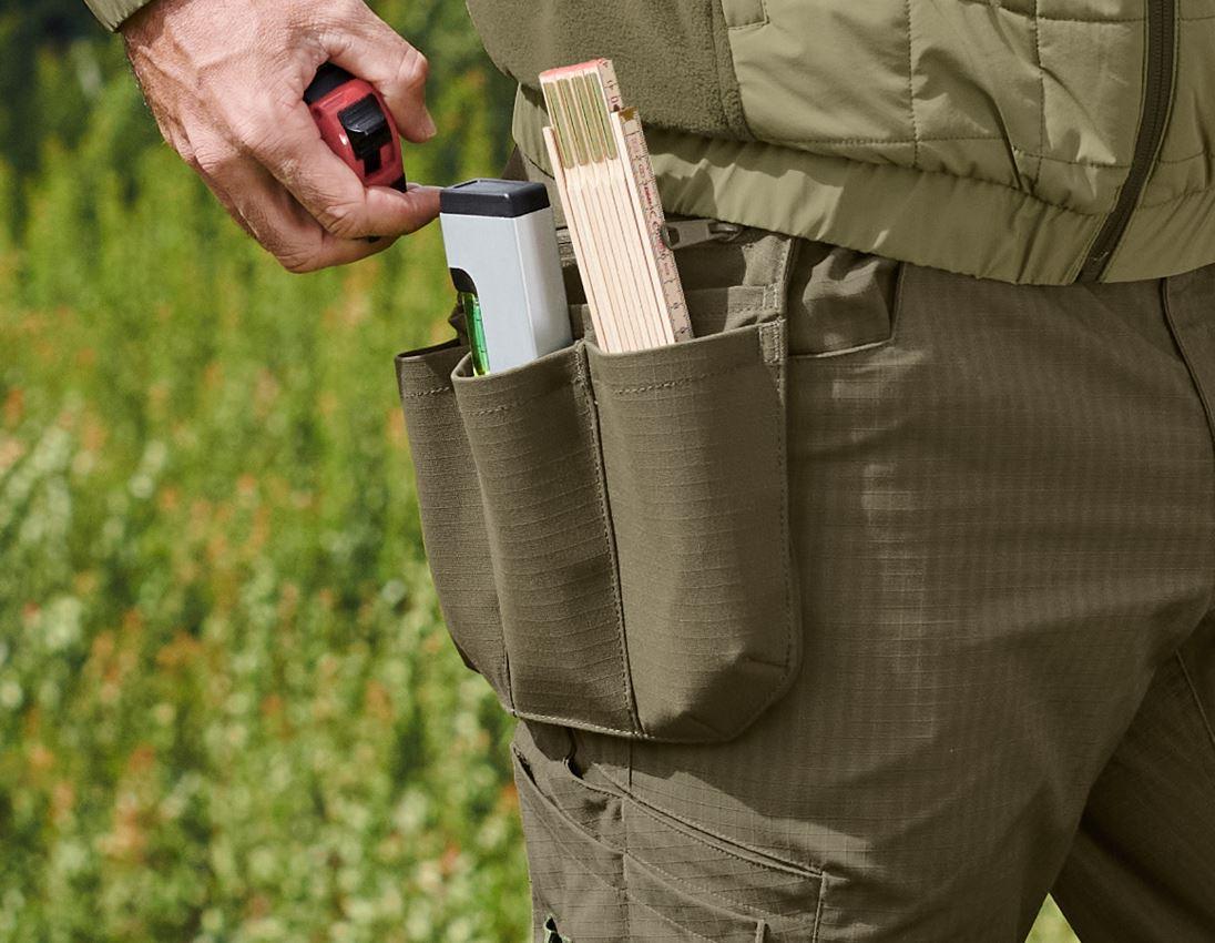 Accessoires: Poches à outils e.s.concrete solid + vert boue