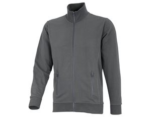 e.s. Sweatjacke poly cotton