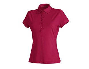 e.s. Polo-Shirt cotton stretch, Damen