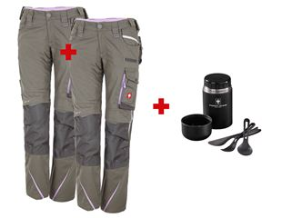 SET:Damen Bundhose+Winter Bundhose e.s.motion 2020