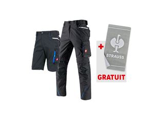 LOT:pantalon de travail e.s.motion 2020 + short