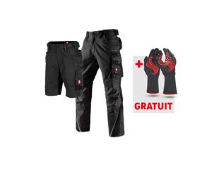 LOT:pantalon de travail e.s.motion + short