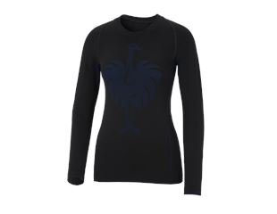 e.s. Funktions-Longsleeve seamless-warm, Damen