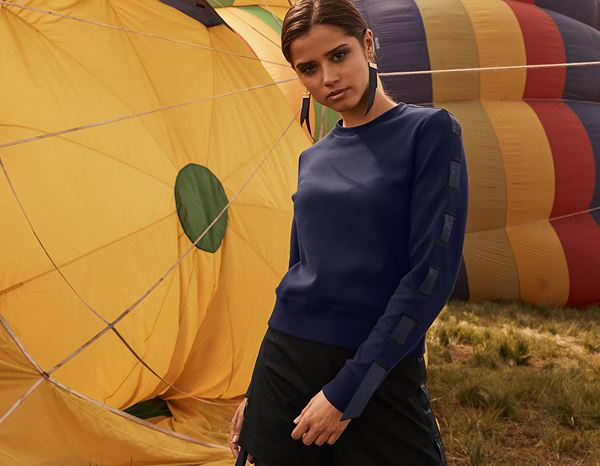workwear couture: Ribbon Sweater + darkblue