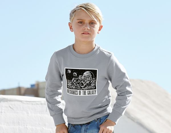 Shirts & Co.: e.s. Sweatshirt Mission 2020, Kinder + platin