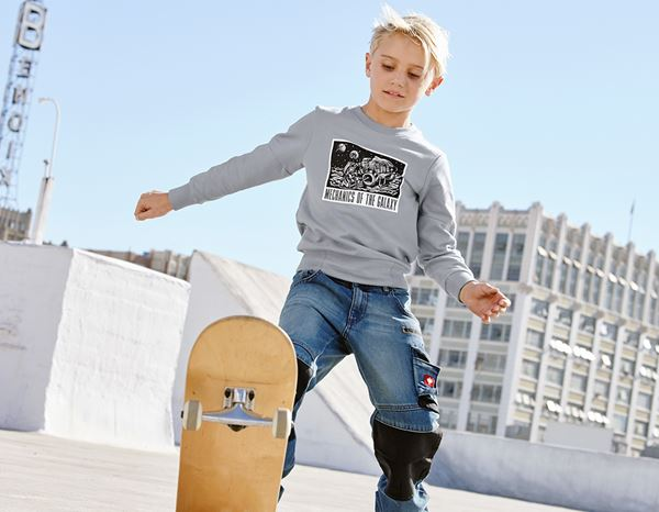 Shirts & Co.: e.s. Sweatshirt Mission 2020, Kinder + platin 1
