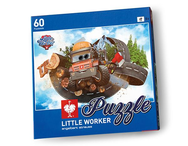 Accessoires: Little Worker Puzzle Woodman Willy